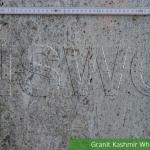 Granit Kashmir White Poliert