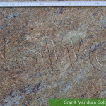 Granit Mandura Gold Poliert