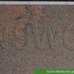 Granit Multicolor Geflammt