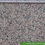 Granit Rosa Porrino Geflammt